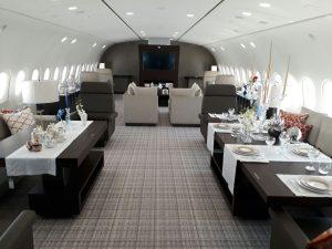 Inside Dream Jet